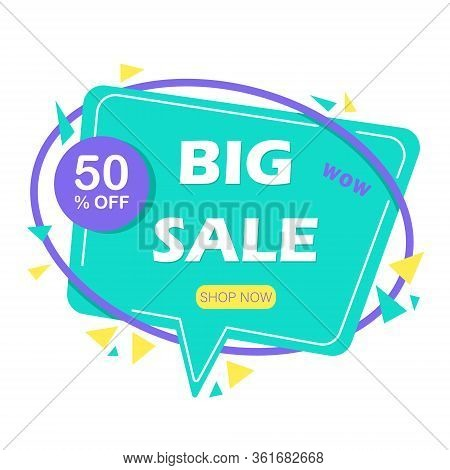 Mega sale banner. Sale and discounts. Banner decoration discount empty tags. Premium origami labels, price ribbon. Sale sticker, bookmark badge vector set. Illustration ribbon banner sticker, label for sale and premium tag Vector illustration.