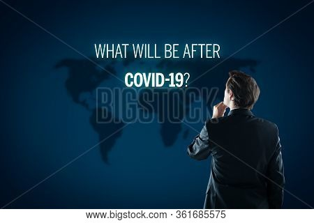 Post-covid-19 Era Contemplation Of Investor Concept. New Phase And Opportunity For Humankind, Indivi