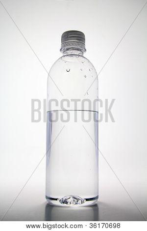 Half Empty Water Bottle.