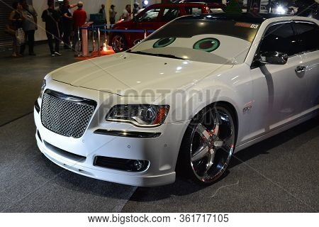 Pasay, Ph - July 28: Chrysler Car At Bumper To Bumper Prime Car Show On July 28, 2019 In Pasay, Phil