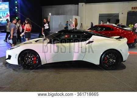 Pasay, Ph - July 28: Lotus Sports Car At Bumper To Bumper Prime Car Show On July 28, 2019 In Pasay,