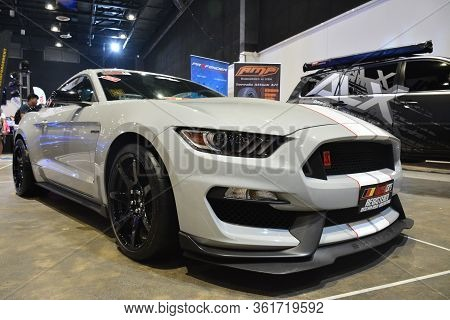 Pasay, Ph - July 28: Ford Mustang At Bumper To Bumper Prime Car Show On July 28, 2019 In Pasay, Phil