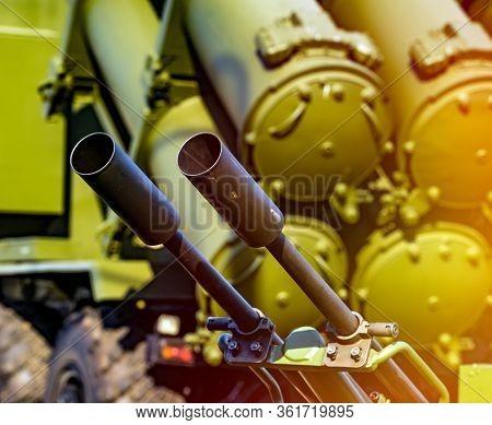 Heavy Machine Gun Antiaircraft Defense