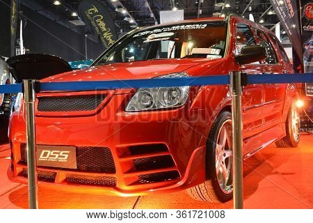 Pasay, Ph - July 28: Honda Crv At Bumper To Bumper Prime Car Show On July 28, 2019 In Pasay, Philipp
