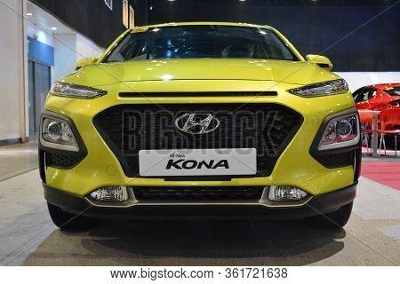 Pasay, Ph - July 28: Hyundai Kona At Bumper To Bumper Prime Car Show On July 28, 2019 In Pasay, Phil
