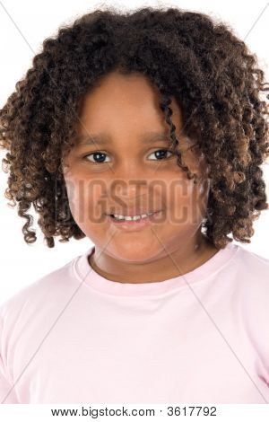 Adorable African Girl