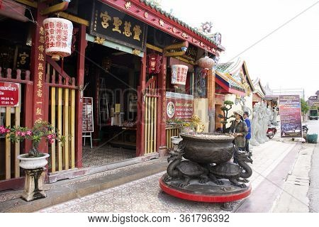View Landscape Of Leng Chu Kiang Or Chao Mae Lim Ko Niao Chinese Shrine For Thai People Travel Visit