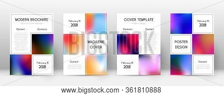 Flyer Layout. Business Marvelous Template For Brochure, Annual Report, Magazine, Poster, Corporate P