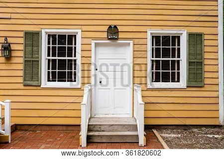 Cold Spring Village, Cape May, Nj, Usa - June 18, 2019: Dennisville Iin Constructed In 1836 For Use