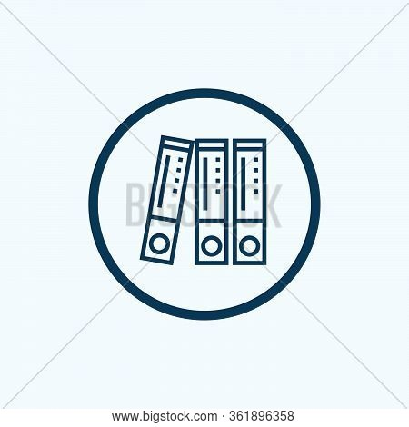 Archive Icon Isolated On White Background From Money Collection. Archive Icon Trendy And Modern Arch