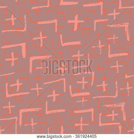 Tie Dye Japanese Geometric Summer Seamless Pattern. Geo Wabi Sabi Minimalist Kimono Print. Boho Tie