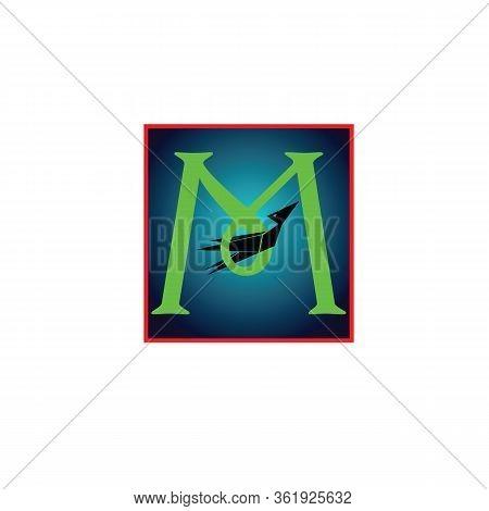 Vector Letter Logo M, Template Illustration Of Letter M Logo Design, Vector Logo Letter M, Vector Lo