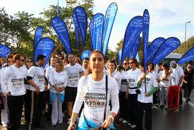 Fundraising runners