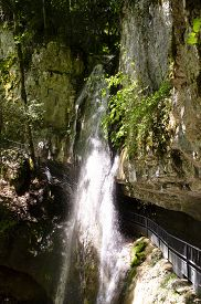 Angon Waterfall, Neartalloires And Annecy, Savoy, France