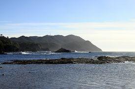 Mediterranean Coast Landscape In Bandol, French Riviera, France