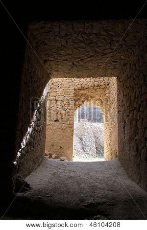 Corridor In Temple