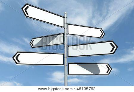 Crossroad Signpost