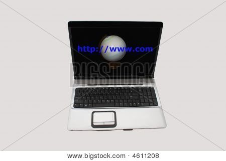 Laptop Expression World Wide Web