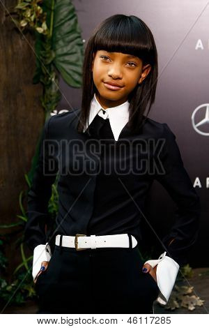 NEW YORK - MAY 29: Actress Willow Smith attends the premiere of