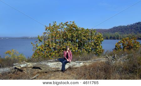 Along the Banks of Arkansas River