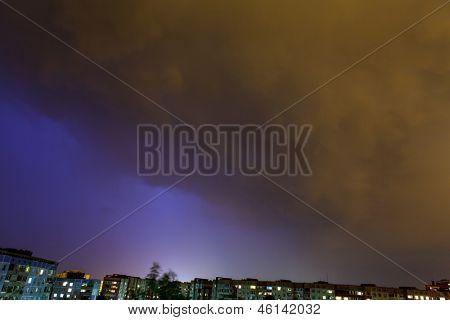 dark dramatic sky