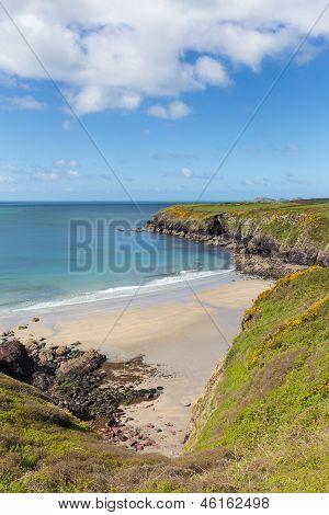 Caerfai Bay Wales UK