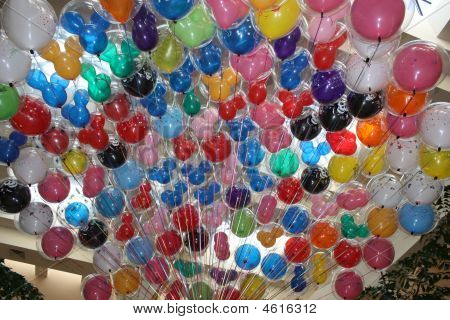 Helium Filled Baloons