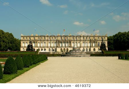 Herrenchiemsee Palace In Germany