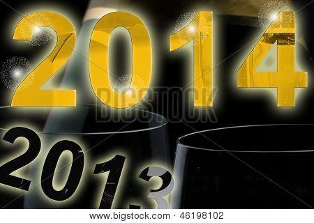 Year Turns To 2014