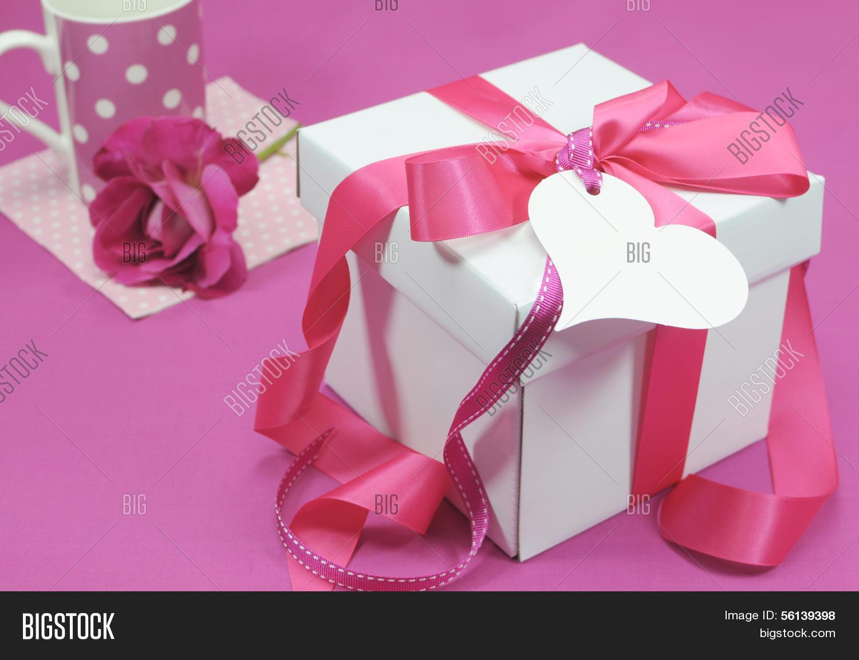 Beautiful Pink White Image & Photo (Free Trial)   Bigstock