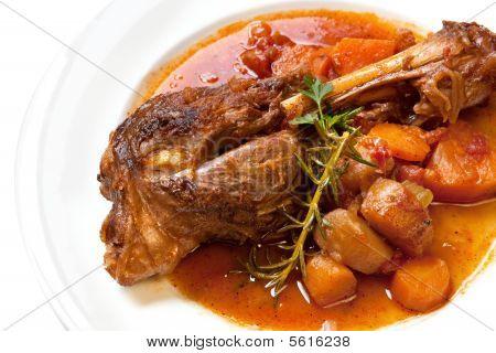 Lamb Shank Dinner