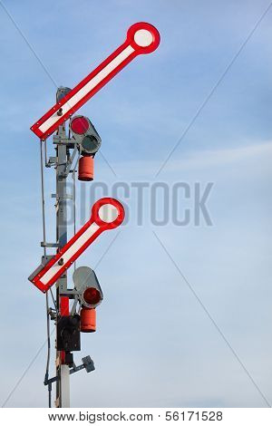 Go-Ahead Train Signal