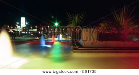 Night Fountains 1