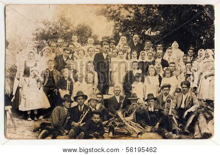 Old Wedding Photograph