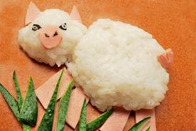 Bento lunch pig
