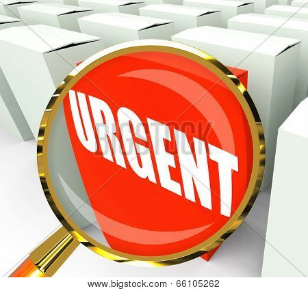 Urgent Packet Refers To Urgency Priority And Critical
