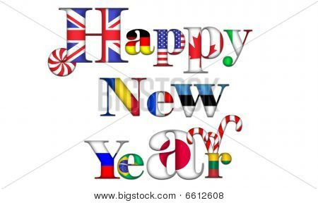 New Year in the world