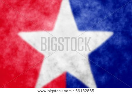 Abstract bulr patriotic red white and blue background with star