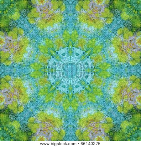 Seamless pattern, paintings on a fabric