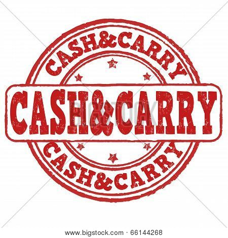 Cash And Carry Stamp