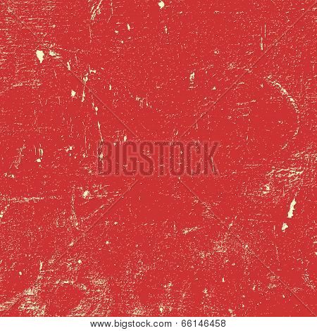 Red Distressed Paint