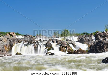 Great Falls National Park on Potomac River in Virginia USA