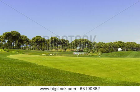 Golf Course Landscape For Beginners