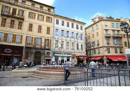 Old Town,nice, France.