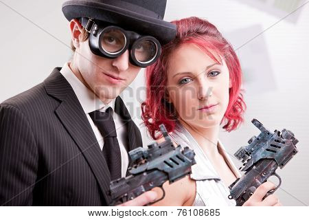 We Are Your Right Commando Couple