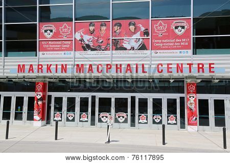 Markin MacPhail Hockey Centre located in Canada Park
