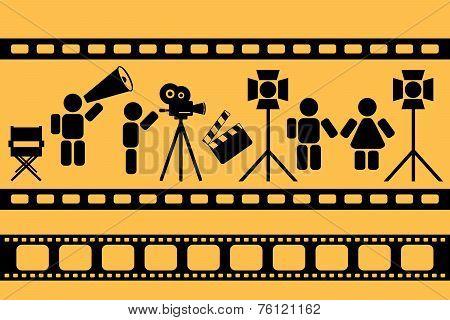shooting movie scene