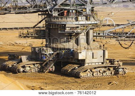 Bucket Wheel Excavator Caterpillars
