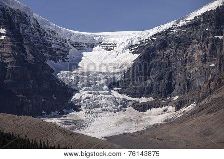 Dome Glacier And Snow Dome