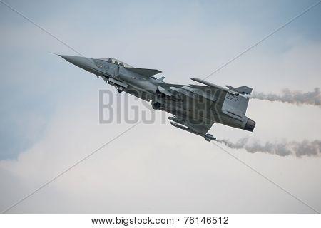 Saab Jas 39 Gripen Aircraft